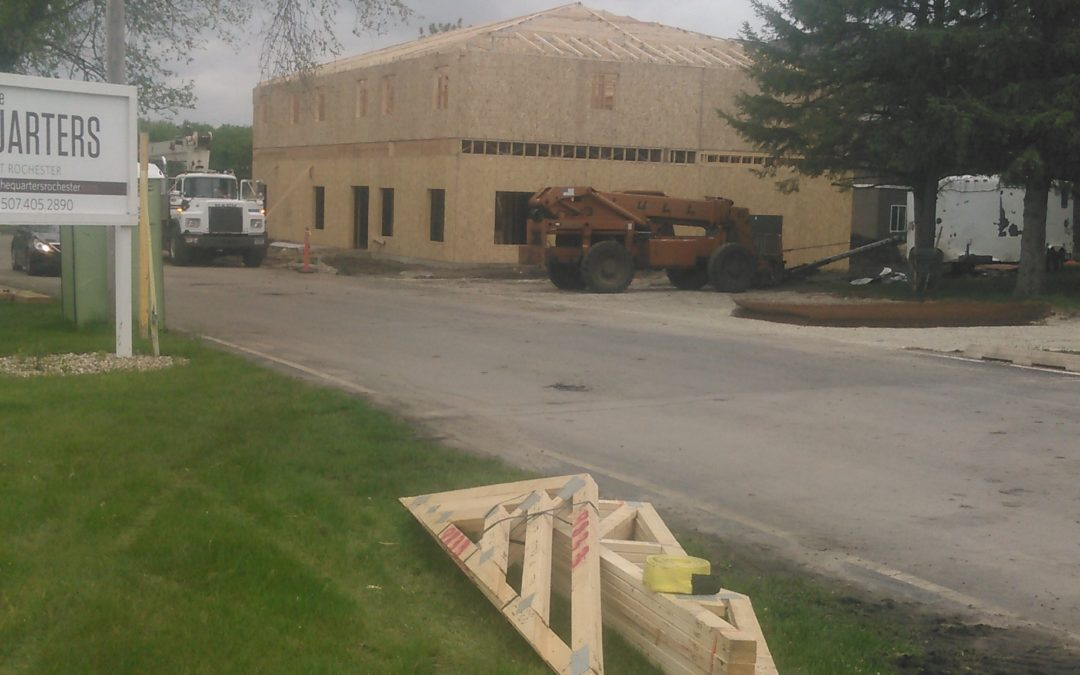 Rochester Quarters Leasing Office is Framed Up!