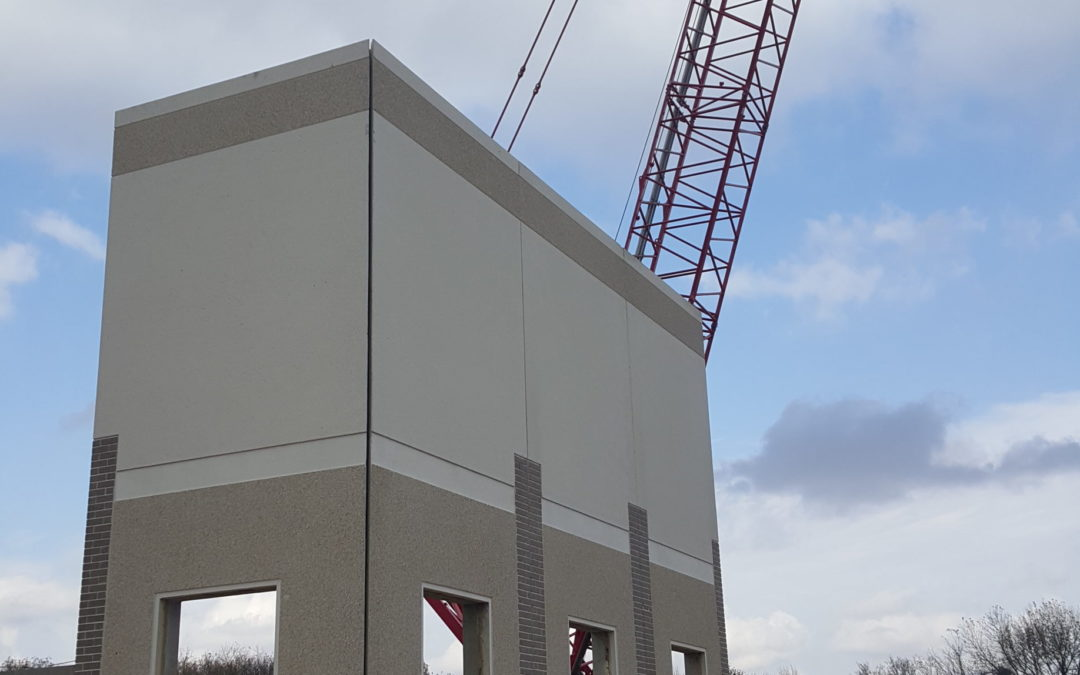 Kenyon Fire Station Walls Are Going Up!