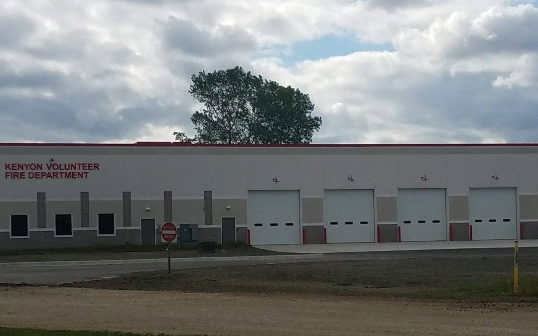 Kenyon Volunteer Fire Department is Almost Done!